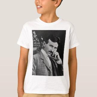 Porträt von Nikola Tesla T-Shirt