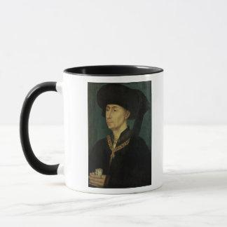 Porträt von Philip der gute Herzog von Burgunder Tasse