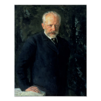 Porträt von Piotr Ilyich Tchaikovsky