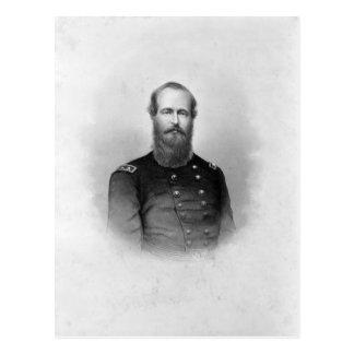 Porträt von Postkarte Ulysses S. Grant