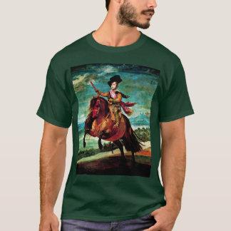 Porträt von Prinzen Balthasar Carlos zu Pferd T-Shirt