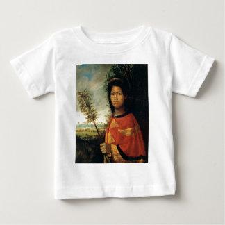 Porträt von Prinzessin Nahiennaena von Hawaii Baby T-shirt