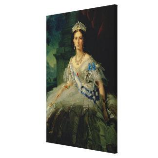 Porträt von Prinzessin Tatjana Alexanrovna Gespannter Galeriedruck
