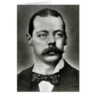 Porträt von Randolph Churchill Karte