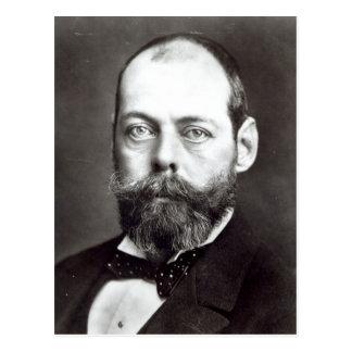 Porträt von Randolph Churchill Postkarte