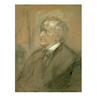 Porträt von Richard Wagner 1868 Postkarten