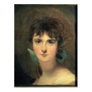 Porträt von Sally Siddons Postkarte