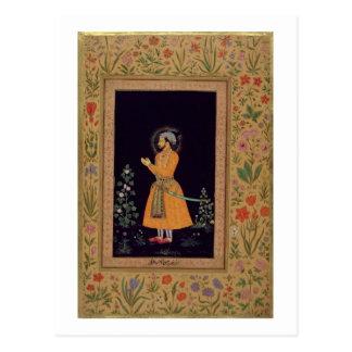 Porträt von Shah Jahan (1592-1666) Mughal, c.1632 Postkarte