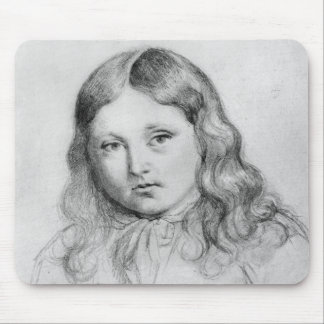 Porträt von Solange-Sand Mauspad