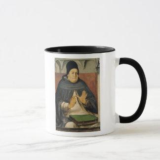 Porträt von St Thomas Thomas von Aquin c.1475 Tasse