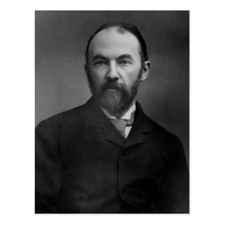 Porträt von Thomas Hardy Postkarte