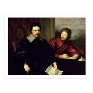 Porträt von Thomas Wentworth, Graf von Strafford Postkarte
