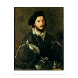 Porträt von Vincenzo Mosti (Öl auf Leinwand) Postkarte