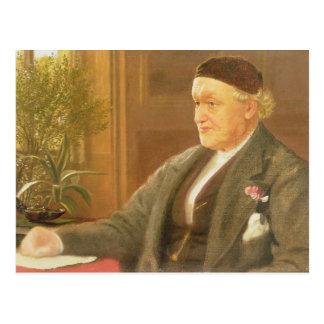 Porträt von William Bell Scott (1811-90), 1886 (oi Postkarte