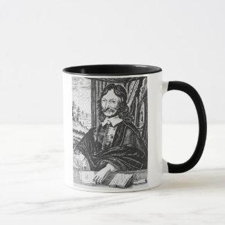 Porträt von William Lilly (1602-81), von seinem Tasse