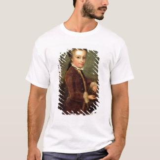 Porträt von Wolfgang Amadeus Mozart alterte T-Shirt