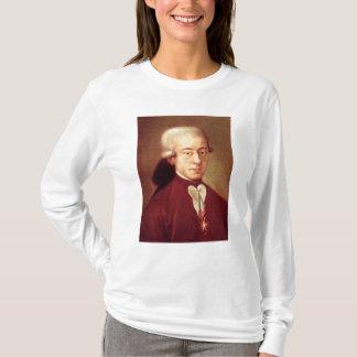 Porträt von Wolfgang Amadeus Mozart nach 1770 T-Shirt