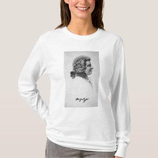 Porträt von Wolfgang Amadeus Mozart T-Shirt