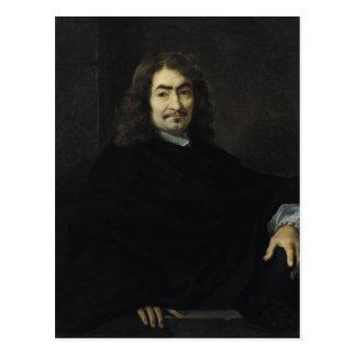 Porträt, vorausgesetzt, um Rene Descartes zu sein Postkarte