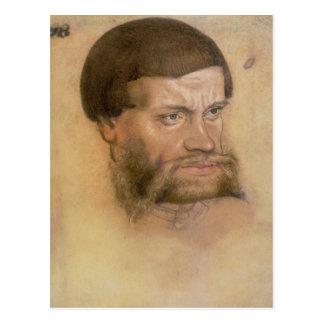 Porträt wahrscheinlich von John das standhafte Postkarte