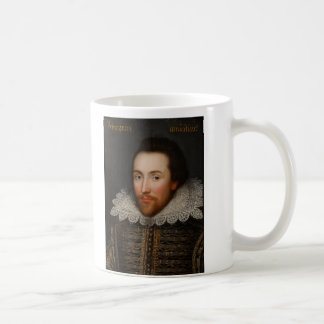 Porträt William Shakespeares Cobbe circa 1610 Kaffeetasse
