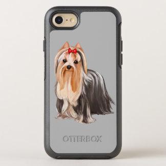 Porträt Yorkshires Terrier OtterBox Symmetry iPhone 8/7 Hülle