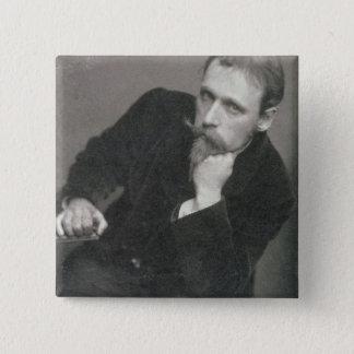 Porträtphotographie von Walter-Kran (1845-1915) Quadratischer Button 5,1 Cm