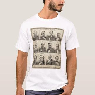 Porträts der frühen Siedler von Minnesota T-Shirt