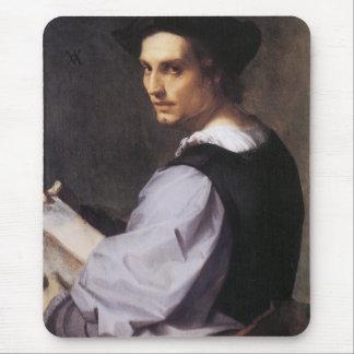 Portriat eines jungen Mannes Mousepad