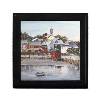 Portsmouth-Hafen, New Hampshire Geschenkbox