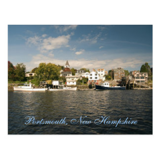 Portsmouth, New Hampshire-   Postkarte