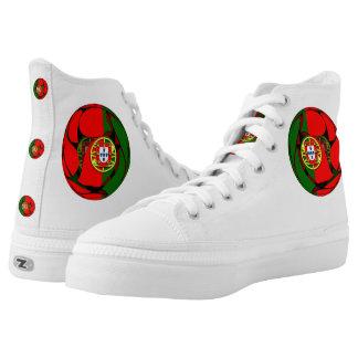 Portugal #1 hoch-geschnittene sneaker