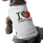 Portugal Ärmelfreies Hunde-Shirt