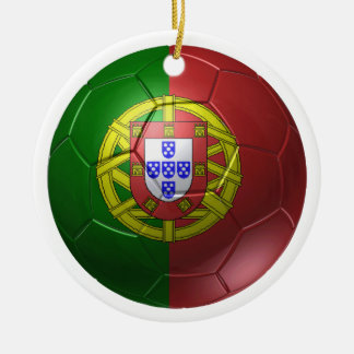 Portugal-Ball Keramik Ornament