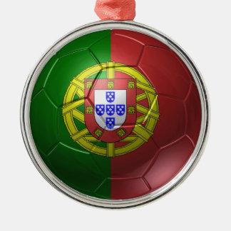 Portugal-Ball Silbernes Ornament