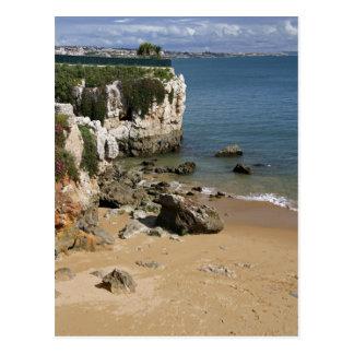 Portugal, Cascais. Praia DA Rainha, ein Strand Postkarte