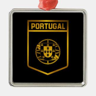 Portugal-Emblem Silbernes Ornament