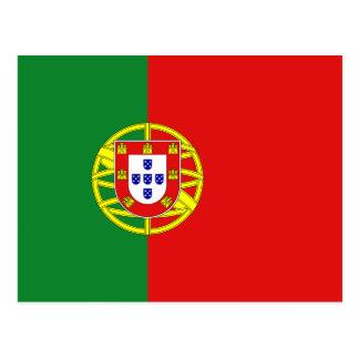 Portugal-Flaggen-Postkarte Postkarte