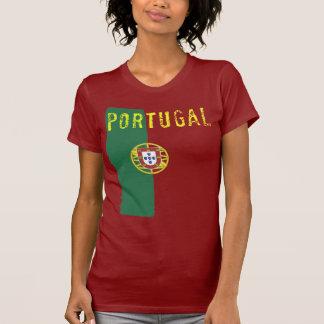 Portugal-Flaggen-T - Shirt