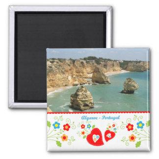 Portugal in den Fotos - Benagil Quadratischer Magnet