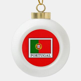 Portugal Keramik Kugel-Ornament