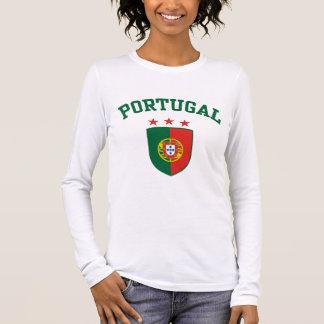 Portugal Langarm T-Shirt