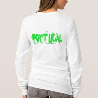 Portugal-Mädchen-Strickjacke T-Shirt