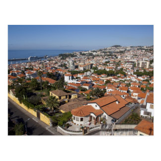 Portugal, Madeira-Insel, Funchal. Drahtseilbahn Postkarte