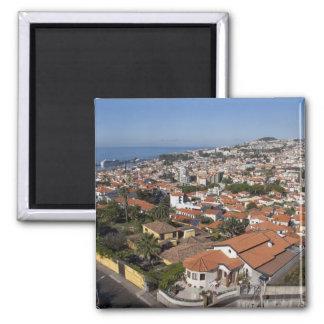 Portugal, Madeira-Insel, Funchal. Drahtseilbahn Quadratischer Magnet