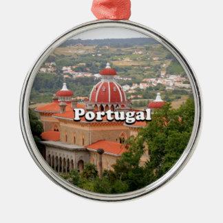 Portugal: Monserrate Palast, nahe Sintra Silbernes Ornament