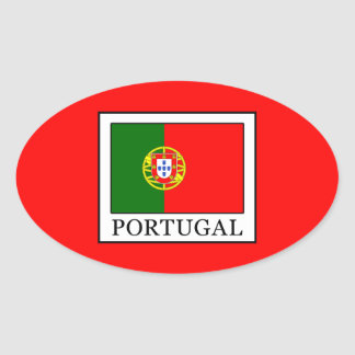 Portugal Ovaler Aufkleber