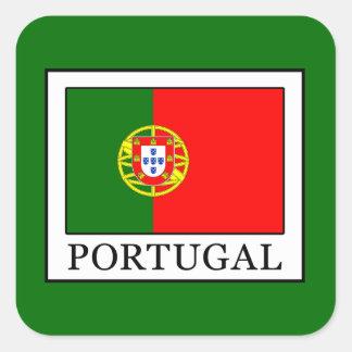 Portugal Quadratischer Aufkleber