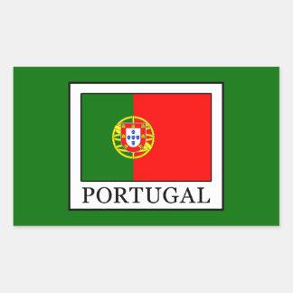 Portugal Rechteckiger Aufkleber