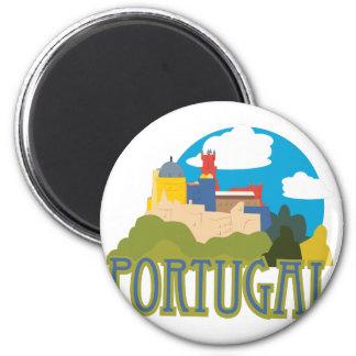 Portugal Runder Magnet 5,1 Cm